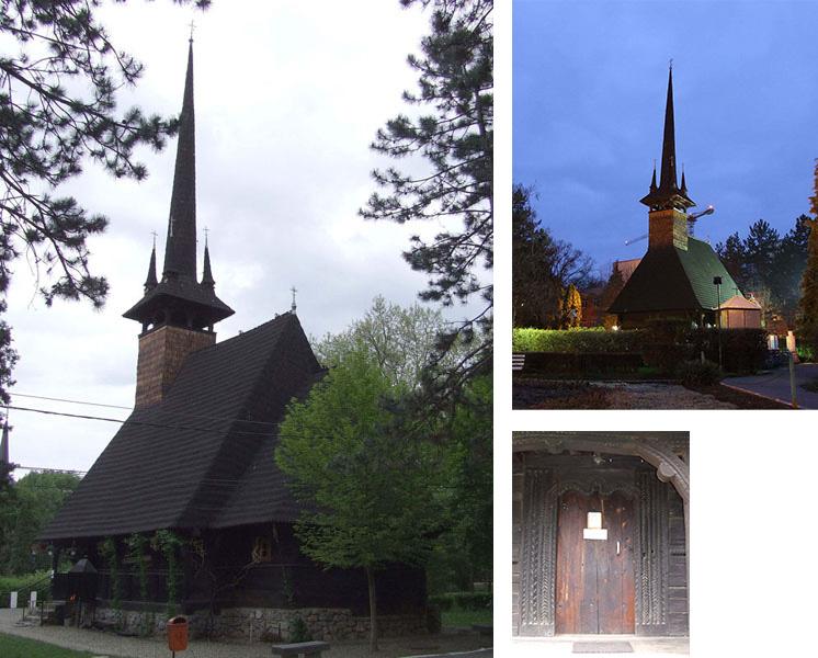 Biserica de lemn Baile Felix adusa din Brusturi