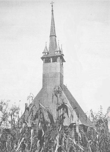 Biserica de lemn din Brusturi este acum la Baile Felix