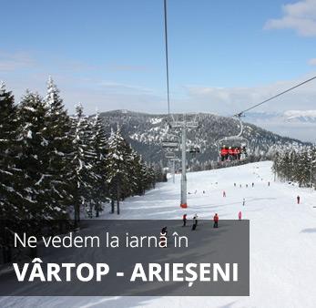 excursie iarna cazare vartop arieseni bihor