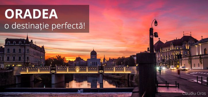Oradea este cel mai frumos oras din Romania. Cazare Oradea